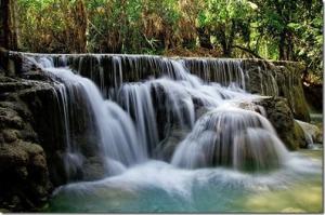 efecto seda en el agua